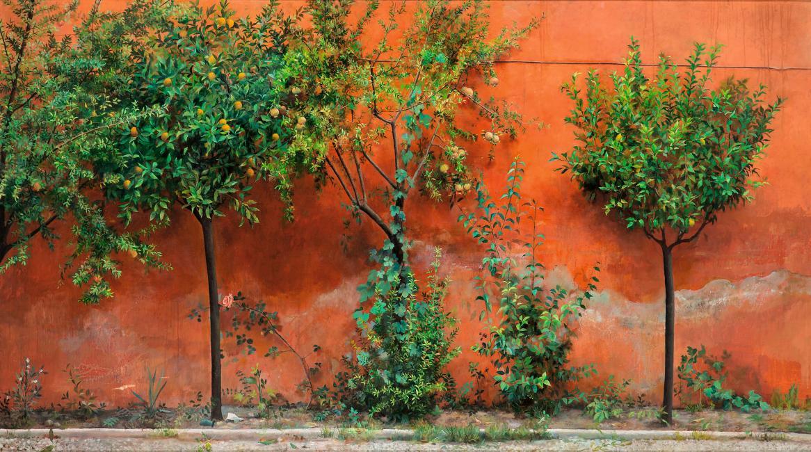 Isabel Quintanilla. Jardín, 1966. Colección privada