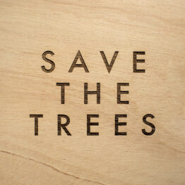 Fran Pérez Rus. Save the trees, 2016