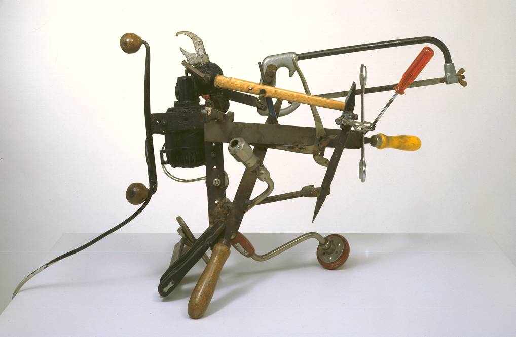 Jean Tinguely. Débricollage, 1970