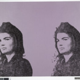 Andy Warhol. Jackie II from 11 Pop Artists, vol. II, 1965. © The Trustees of the British Museum. © 2020 The Andy Warhol Foundation for the Visual Arts, Inc. /VEGAP
