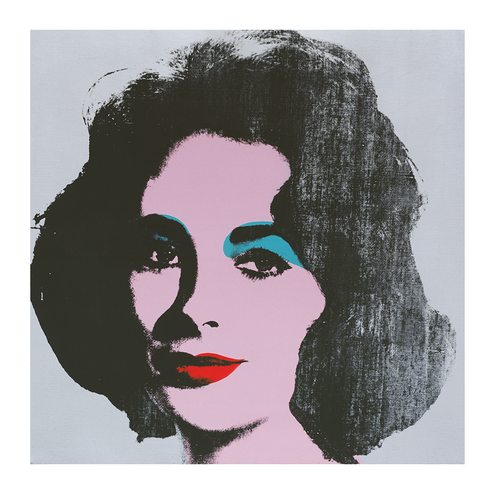 Andy Warhol. Silver Liz, 1963. Colección Froelich. The Andy Warhol Foundation for the Visual Arts