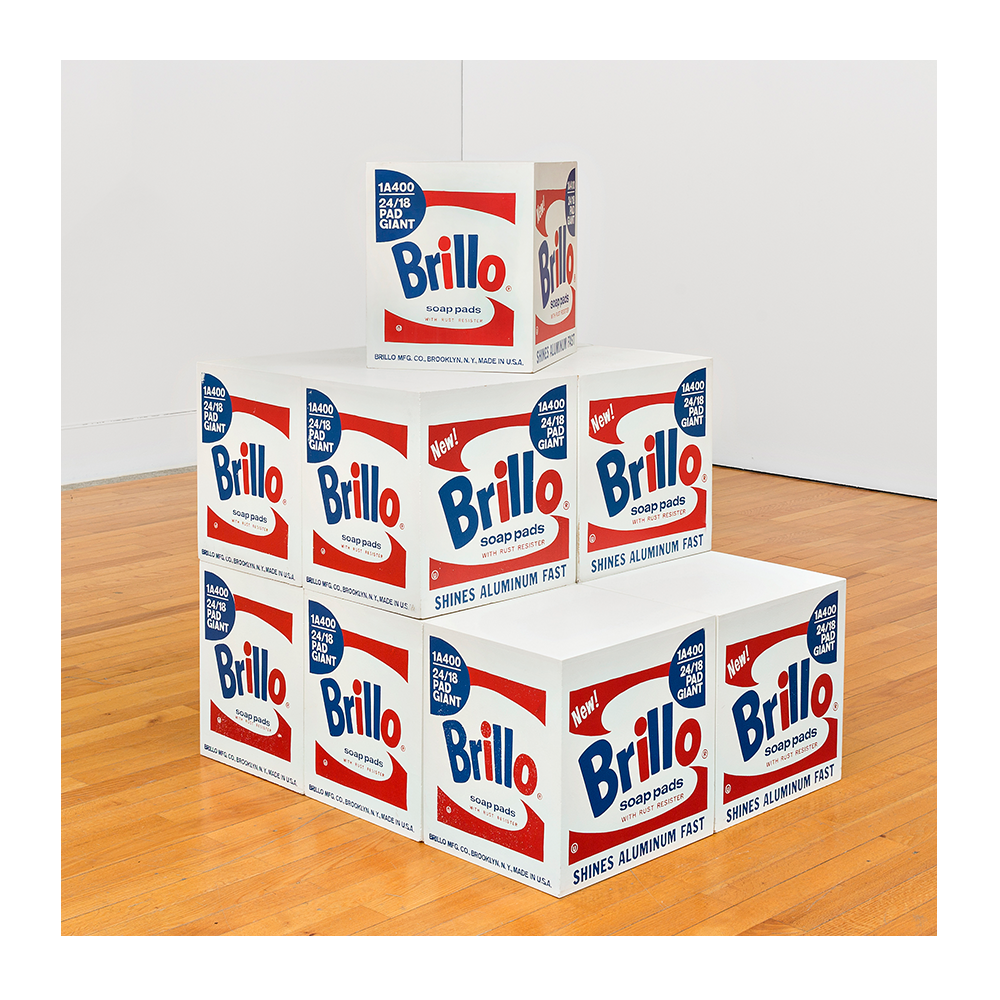 Andy Warhol. Brillo BOX, 1964-1968. Museo Colección Berardo, Lisboa. The Andy Warhol Foundation for the Visual Arts