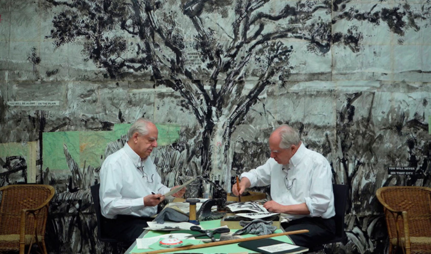 William Kentridge. Perseus and Sibyl, 2020. Cortesía del artista