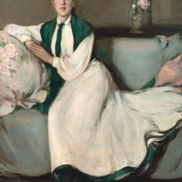 JD Fergusson. The White Dress: Portrait of Jean, 1904. The Fergusson Gallery, Perth & Kinross Council