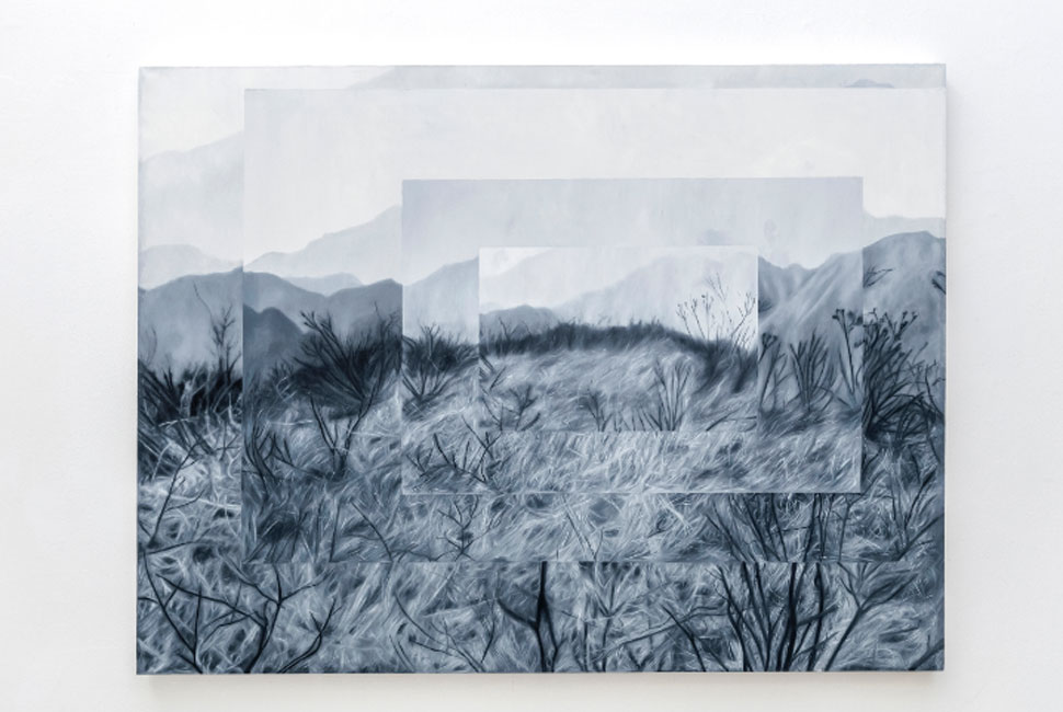 José Fiol. To lose a performance meter in an anonymous painting, 2019. Colección particular