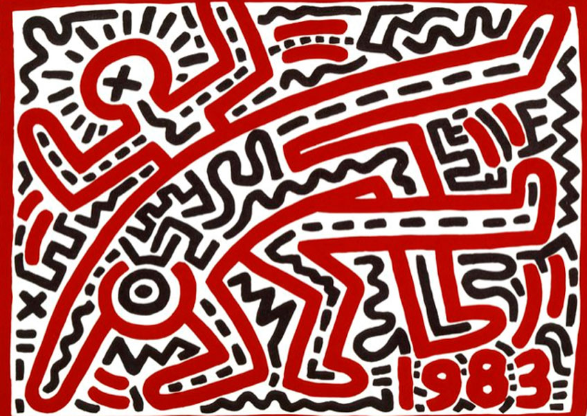 Keith Haring. Untitled, 1983. Keith Haring Foundation