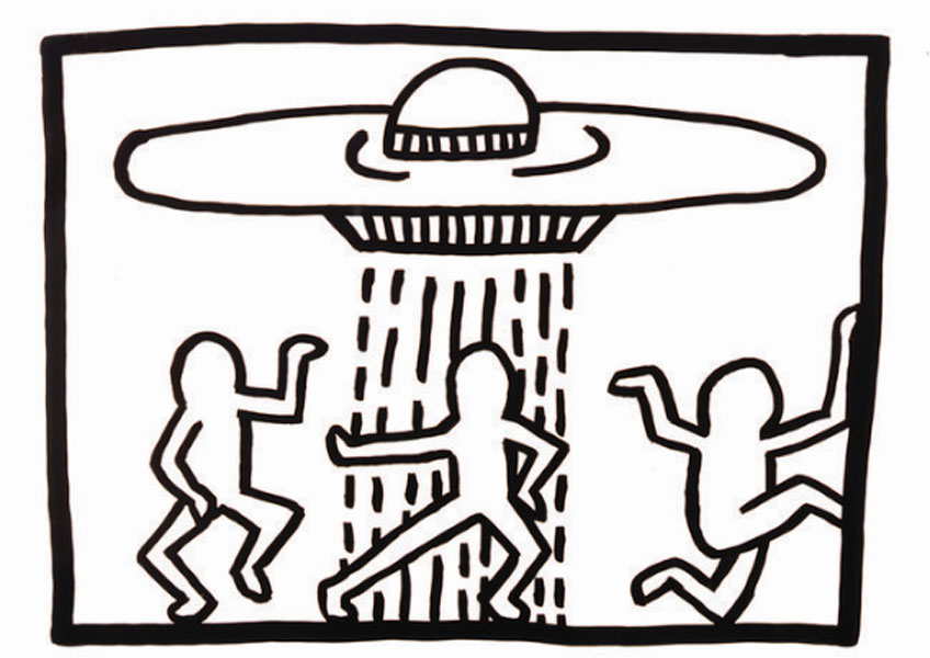 Keith Haring. Untitled, 1980. Keith Haring Foundation