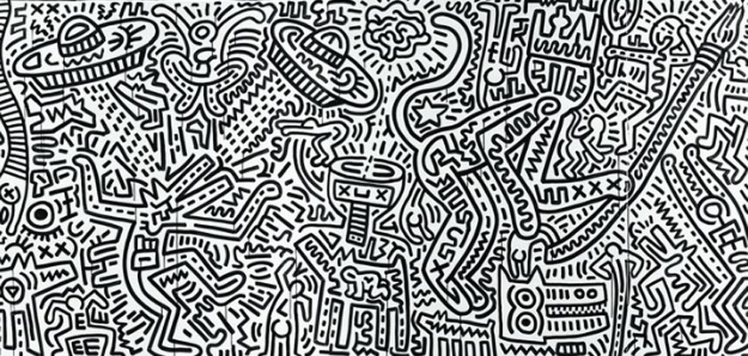 Keith Haring. The Matrix, 1983. Keith Haring Foundation