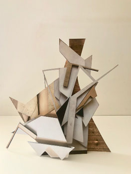 Andrea V Wright. Maquette for future sculpture 9, 2020