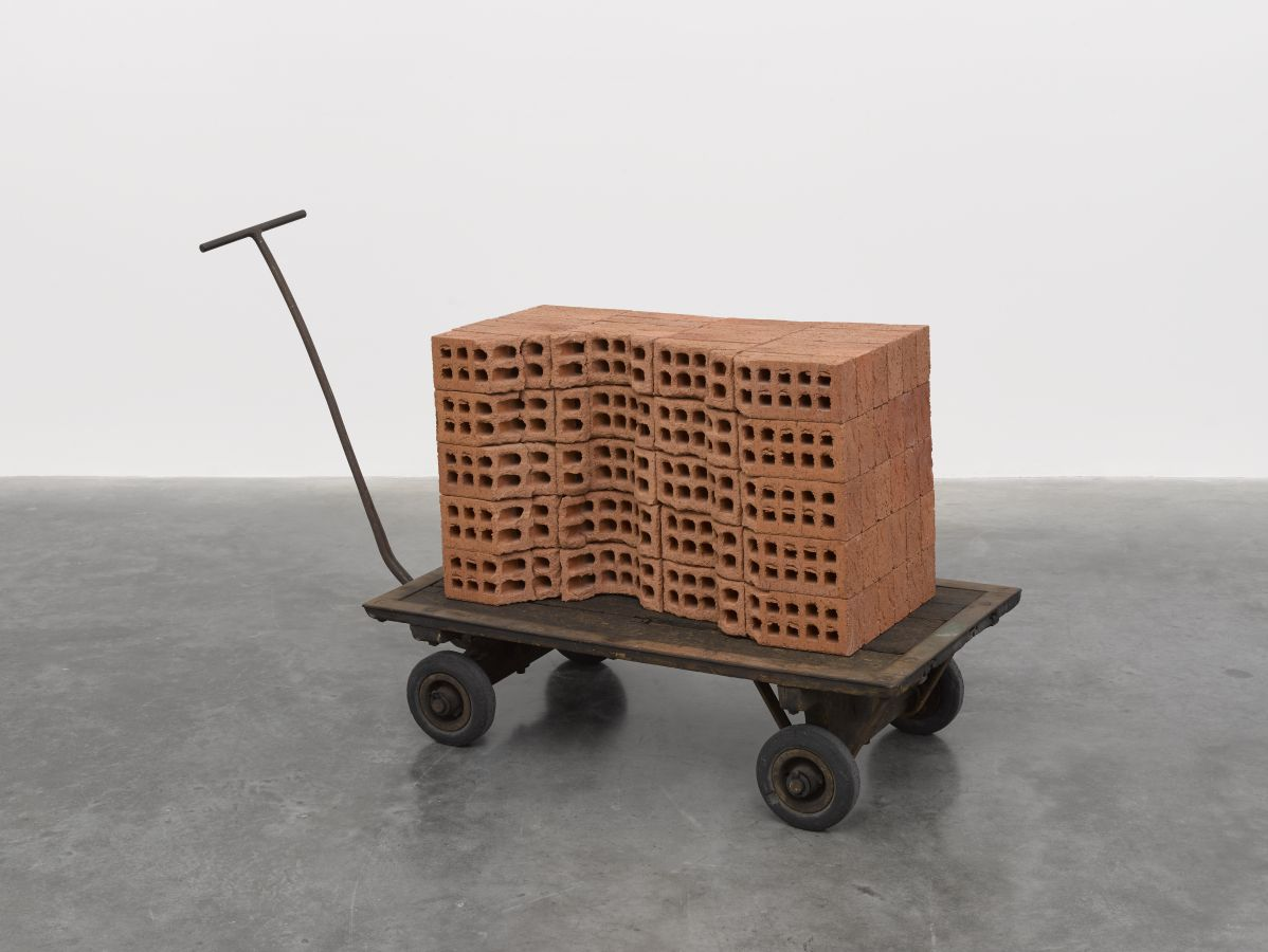 Mona Hatoum / A Pile of Bricks, 2019. © Mona Hatoum