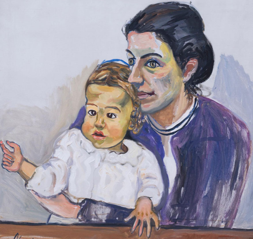 Alice Neel. Nancy and Olivia, 1968