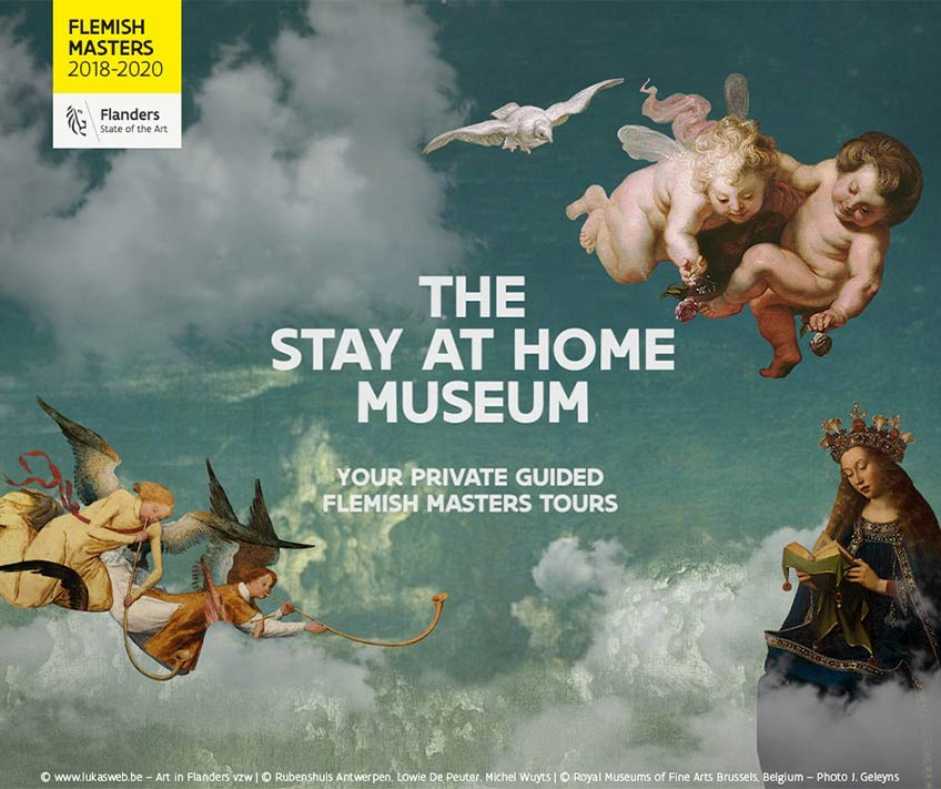 The Stay at Home Museum. Turismo de Flandes