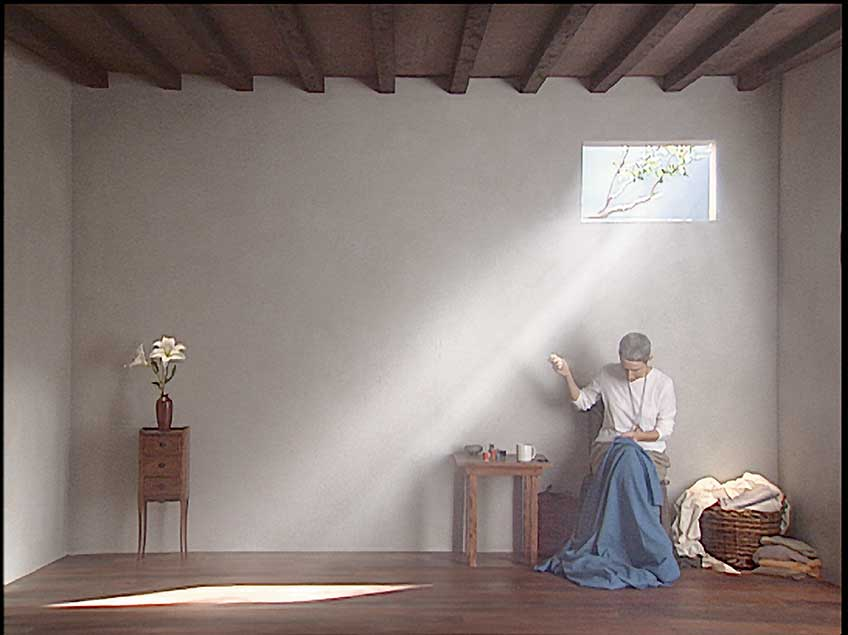 Bill Viola, Catherine's Room, 2001 @ Bill Viola Studio