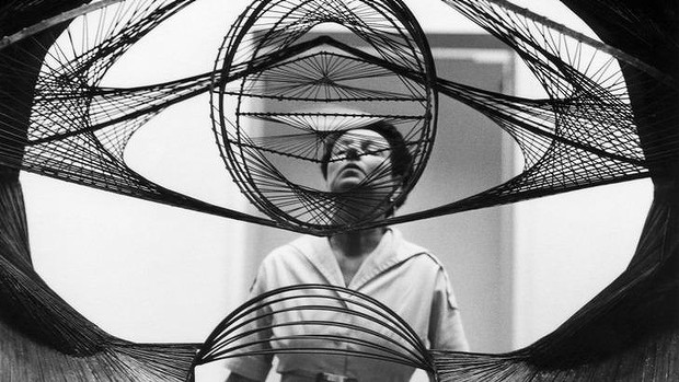 Peggy Guggenheim en su documental Art Addict