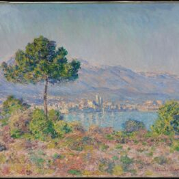 Monet. Vista de Antibes desde Plateau Notre-Dame, 1888. Museum of Fine Arts, Boston