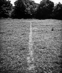 Richard Long. A line made by walking England 1967