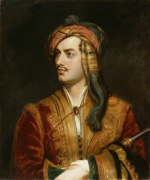 Thomas Phillips. Lord Byron, 1813