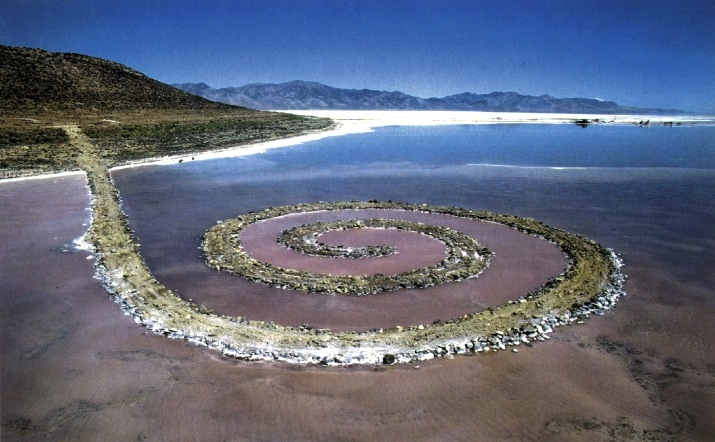 Robert Smithson. Espiral Jetty