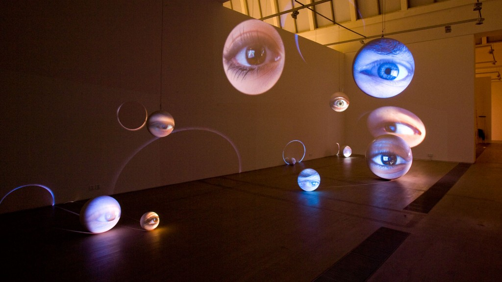 Tony Oursler. Number Seven, Plus or Minus Two